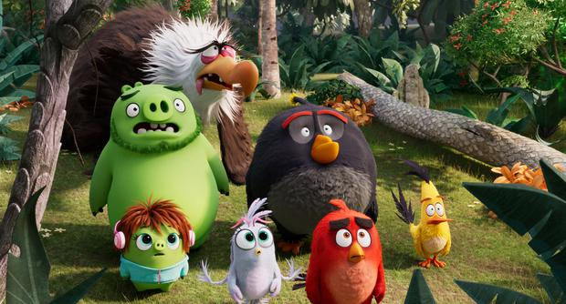 They're birds and they're angry. So it must be Angry Birds 2