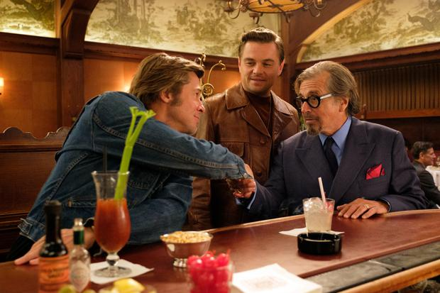 Brad Pitt, Leonardo di Caprio and Al Pacino in the new Tarantino movie