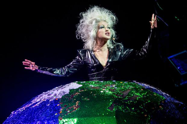Cyndi Lauper is an icon of female strength and identity