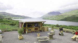 Food with a view: The Misunderstood Heron overlooks the stunning Killary Fjord
