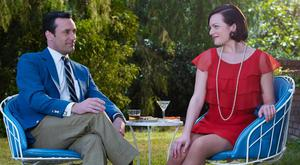 Business buddies: Don Draper and Peggy Olsen had each other's backs in Mad Men