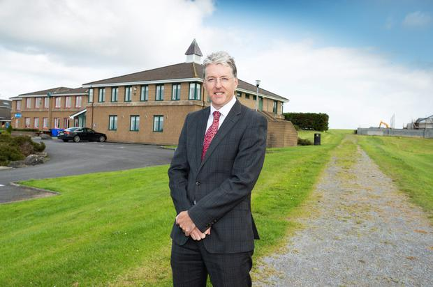 'A balanced education' Brian Crossan, the principal of Gort Community School in Co Galway. Photo: Andrew Downes, xposure