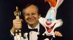 pioneer: Richard Williams with his Oscar for Roger Rabbit