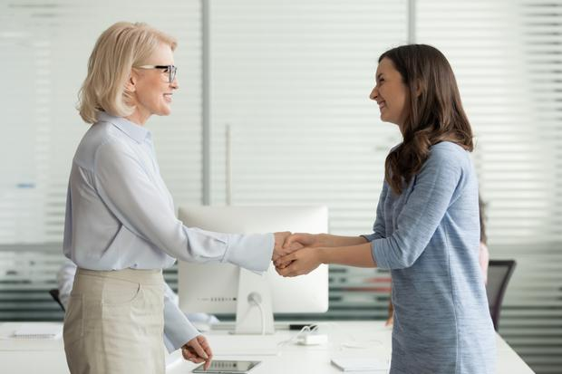 Does your boss praise you just as you're near burnout? Stock photo