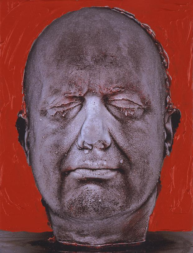 Self (Red) by Marc Quinn