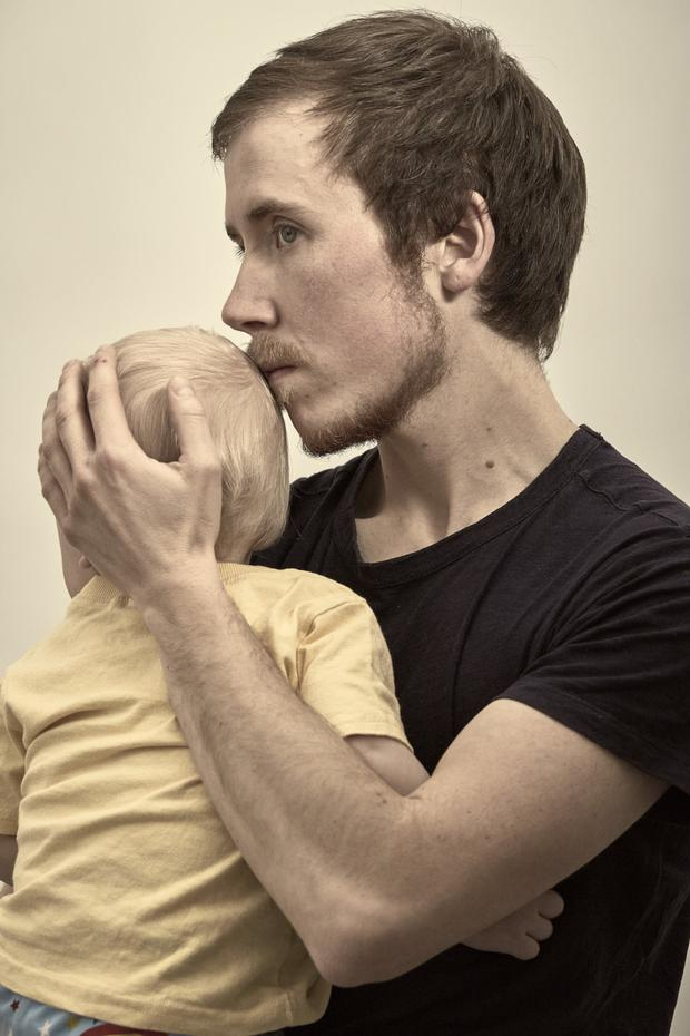 All you need is love: Freddy with his son