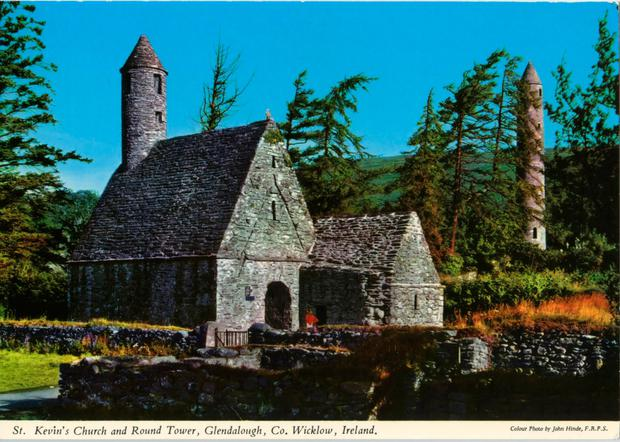 Picture perfect: St Kevin's Church and Round Tower at Glendalough by John Hynde