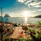 One of the iconic destinations on the island of Ibiza is the sun-kissed Cala D'Hort beach
