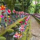 Patricia Danaher was struck by the old Japanese tradition of remembering a baby who died in pregnancy with Jizo statues