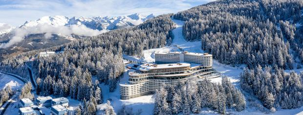 Like something from a Bond film: the one-year-old Club Med in Les Arcs