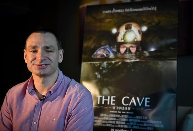 Reluctant hero: Belgian-born cave diver Jim Warny, who lives in Clare, says he has found it hard to get used to the spotlight