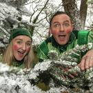 Elf-control: Bill Linnane as Alabaster Snowballs and elf Puffle at Fota Island Resort Wonder Christmas Experience. Photo: Michael MacSweeney/Provision