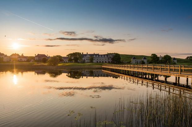 Lough Erne Resort is nestled on the county's beautiful lakelands