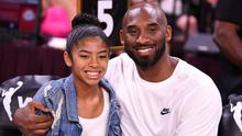 Tragedy: Kobe Bryant with his daughter Gianna, who also died in last week's helicopter crash. Photo: USA TODAY Sports