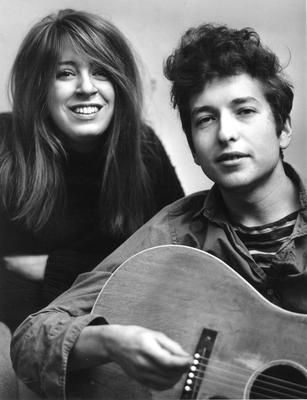 The singer and his girlfriend Suz Rotolo pose for a portrait in September, 1961 in New York. She later refused his proposal of marriage