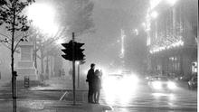 Choked: Smog on O'Connell Street in the 1980s