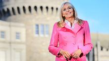 Miriam O'Callaghan studied law before landing a job in television