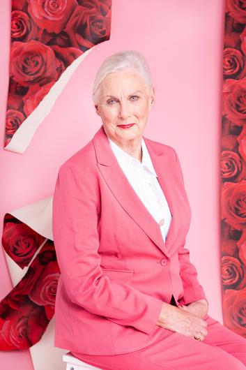 In the pink: Josie Ruane was the 1961 Rose