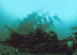 Divers can explore the SS Laurentic in Donegal