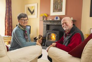 Sally and Eric Sweeney at their house in Tramore, Co. Waterford