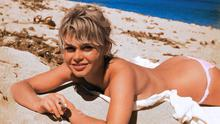 Dared to bare: French beauty Brigitte Bardot sunbathing topless in the 1960s