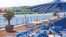 Sailing upriver through French wine country on the SS Bon Voyage