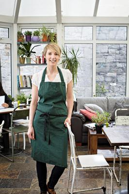 Passion for food: Elaine Tohill loves to experiment with ingredients and dishes at Press Café, Dublin. Photo: Joanne Murphy