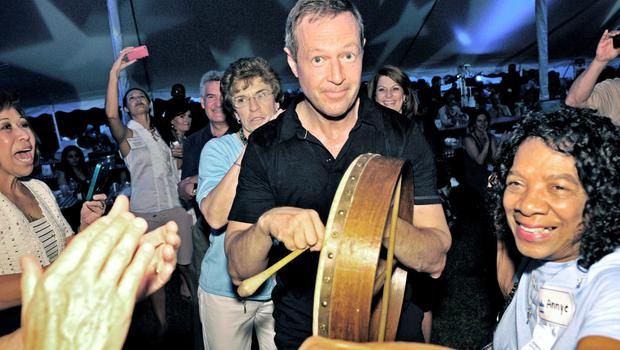 Making noise: Martin O'Malley at a Baltimore fundraiser in 2011