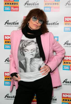 No Pretender: Chrissie Hynde is in the pink at the NME Awards