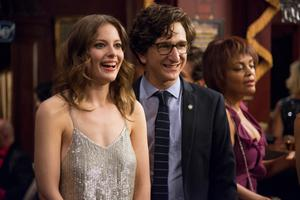 Gillian Jacobs and Paul Rust star in 'Love', which Apatow says is basically a 'five-hour movie'.
