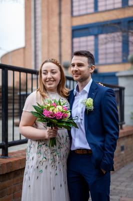 Cara Groome and Conor Berkeley tied the knot in March