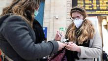 With the coronavirus in the news so much, it may be good to talk to your kids to ease their anxiety. Photo: Reuters