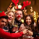 The 12 Pubs of Christmas is hell for the socially awkward. Stock Image