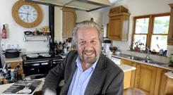 Paolo Tullio, photographed at his home in Annamoe, Co. Wicklow.
