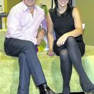 Martin King and Lucy Kennedy
