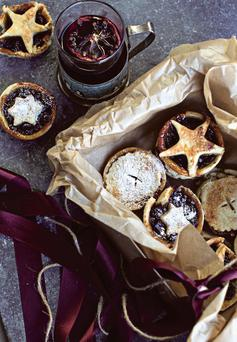 Mince pies from The ICA Book of Christmas, edited by Aoife Carrigy, photo by Joanne Murphy