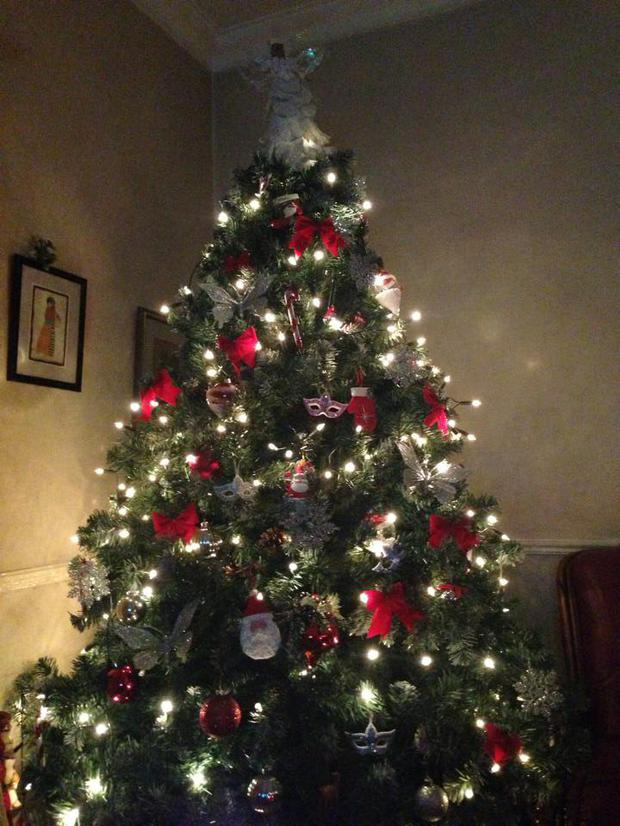 An tree from Rate My Xmas Tree on Facebook.