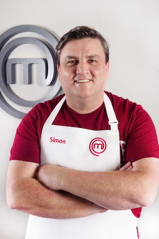 Mixing it up: Simon Delaney on Celebrity Masterchef