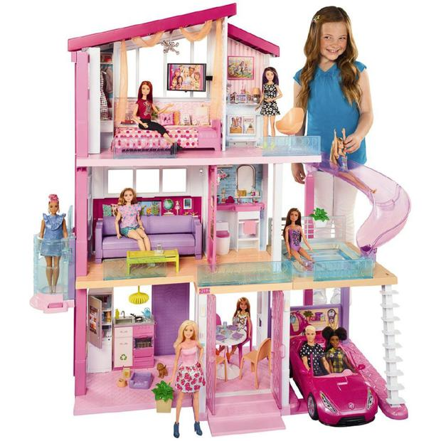 Barbie Dreamhouse comes with a home office