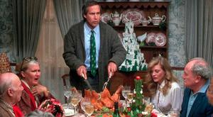 Tensions are high during the cooking of Christmas dinner, like in National Lampoon's Christmas Vacation