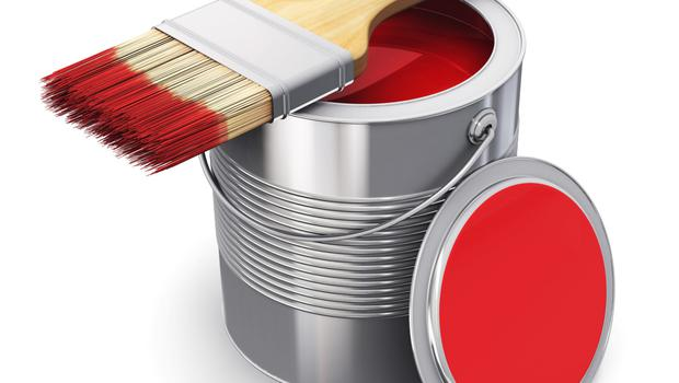 A popular Father's Day gift: A tin of paint from a not-so-subtle wife.