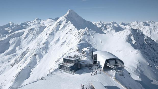 Piste de resistance .... Austrian resort of Solden not only has the perfect snow slopes, it is home to Ice Q restaurant, as featured in a James Bond film