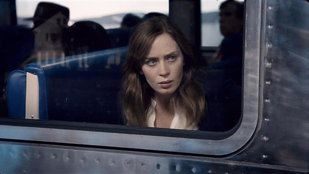 Pressure: Emily Blunt takes on Paula Hawkins' Rachel in the film adaptation of 'Girl on the Train'