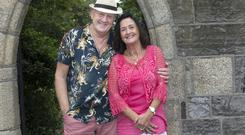 Record company MD Paul O'Reilly and his wife Katie Brady O'Reilly. Photo: Tony Gavin