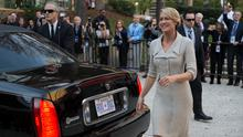 First Lady: Robin Wright as Claire Underwood in Netflix series House of Cards.