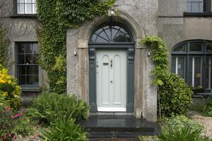 The front of the three-storey house which was  built in 1830 in the centre of Waterford city
