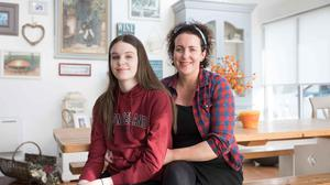 Audrey McGahon and her daughter Molly at home in Ennistymon, Co Clare. Photo: Eamon Ward