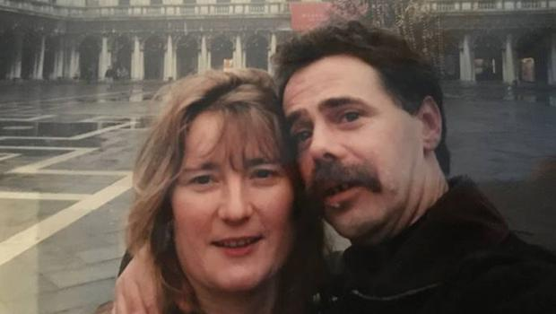 Ros and Gerry on one of their happy visits to the city