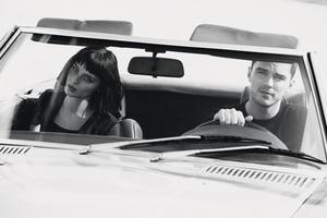 Nicholas Hoult and Alice Pagani star in the Emporio Armani advertisement