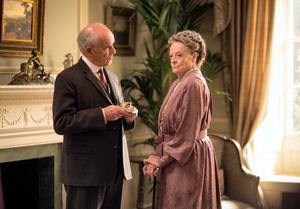Maggie Smith returns as Dowager Countess Crawley